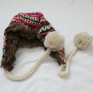 ❤ Super Warm Adorable Fur Lined Winter Hat